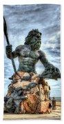 King Neptune Virginia Beach  Bath Towel
