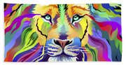 King Of Techinicolor Variant 1 Hand Towel
