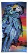 King Parrot 01 Hand Towel