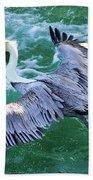 King Pelican Bath Towel