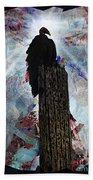 King Vulture Bath Towel
