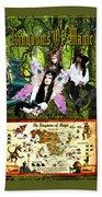 Kingdoms Of Magic Fairy Poster Hand Towel