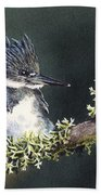 Kingfisher II Bath Towel