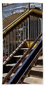 Kings Hwy Subway Station In Brooklyn Bath Towel