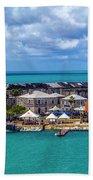Kings Wharf, Bermuda Bath Towel
