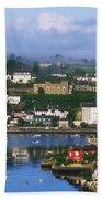 Kinsale, Co Cork, Ireland View Of Boats Bath Towel