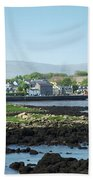 Kinvara Seaside Village Galway Ireland Bath Towel