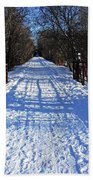 Kissing Bridge Trail Bath Towel