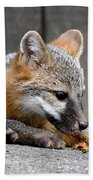 Kit Fox3 Bath Towel