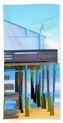 Kitty Hawk Pier 2 Bath Towel