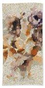 Klimt's Garden Bath Towel