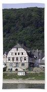 Km 578 Spay Germany Bath Towel