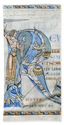 Knight And Monster Bath Towel