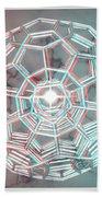Knotplot 3 - Use Red-cyan 3d Glasses Bath Towel