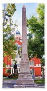 Knoxville Old Courthouse Grounds Bath Towel