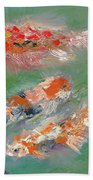 Koi Bath Towel
