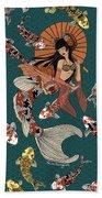 Koi Mermaid 2/4 Bath Towel