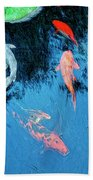 Koi Pond 1 Bath Towel