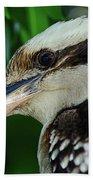 Kookaburra Portrait By Kaye Menner Bath Towel