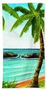 Koolina Lagoon Oahu, Hawaii #343 Hand Towel