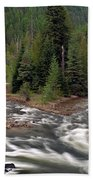 Kootenai River Bath Towel