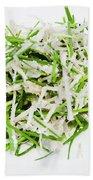Korean Traditional Fresh Vegetable Salad Bath Towel