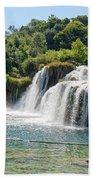 Krka National Park Waterfalls 9 Bath Towel