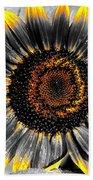 Krypton's Sun Flower Bwy Bath Towel