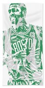 Kyrie Irving Boston Celtics Pixel Art 7 Bath Towel
