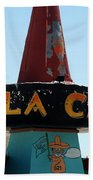 La Cita In Tucumcari On Route 66 Nm Bath Towel