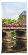La Gacilly, River Aff, Brittany, France Bath Towel