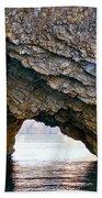 La Roca Foradada - Of L'estartit Bath Towel
