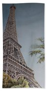 La Tour Eiffel 2 Bath Towel