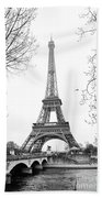 La Tour Eiffel, Paris Bath Towel