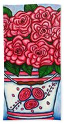 La Vie En Rose Bath Towel