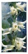Ladies-tresses Orchid Bath Towel