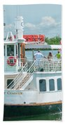 Lady Chadwick Boat - Cabbage Key Island, Florida Bath Towel