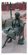 Lady In The Park Bath Towel