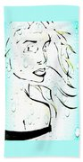 Lady Of The Water Bath Towel