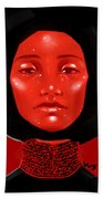 Lady Red Hand Towel