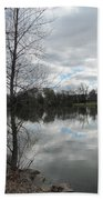Lagoon Reflections 2 Bath Towel