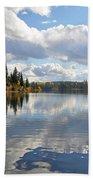 Lake And Clouds Bath Towel