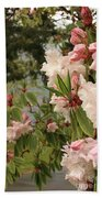 Lake Crescent Lodge Rhododendrons Bath Towel