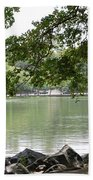 Lake Ella, Tallahassee Bath Towel