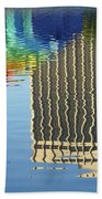 Lake Eola Reflections Bath Towel