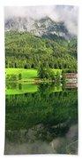 Lake Hintersee Bath Sheet by Yair Karelic