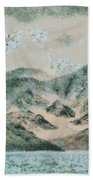 Lake In The Mountains Bath Towel