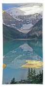Lake Louise Sunrise Bath Towel