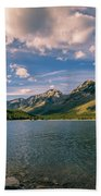 Lake Minnewanka Banff II Bath Towel