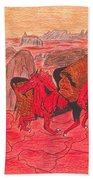 Lake Of Fire Hand Towel